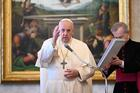 """20210407T0800 POPE AUDIENCE PRAYER SAINTS 1245585.JPG.JPG The risen Jesus appeared to the disciples on several occasions. He patiently soothed their troubled hearts. Risen himself, he now brings about """"the resurrection of the disciples."""" He raises their spirits and their lives are changed. Earlier, the Lord's words and his example had failed to change them. Now, at Easter, something new happens, and it happens in the light of mercy. Jesus raises them up with mercy. Having received that mercy, they become merciful in turn. It is hard to be merciful without the experience of having first received mercy."""