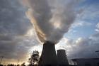 Steam rises from the cooling towers of a nuclear power station in Nogent-Sur-Seine, France. (CNS photo/Charles Platiau, Reuters)