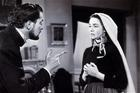 Jennifer Jones and Vincent Price in 'The Song of Bernadette' (photo: alamy.com)
