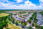 The Mueller neighborhood, in Austin, Tex., was designed to increase the use of solar power. (iStock/JamesBrey)