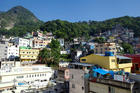 About 70,000 people live in Rocinha, making it the most populous favela in Rio de Janeiro. iStockphoto