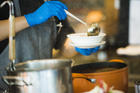 Soup kitchen Credit: iStock/shotshare
