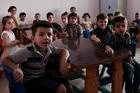 Students attend a new kindergarten in Qaraqosh, Iraq. (Kevin Clarke)