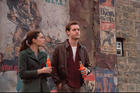 "TIME-CROSSED. Alexa Davolos and Luke Kleintank in ""The Man in the High Castle"""