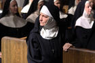 Melissa Leo as the fearsome Reverend Mother Marie St. Claire (Sony Pictures Classics)