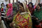 Christian women worship together at a Mass at All Saints Church in Peshawar, Pakistan, on Dec. 25, 2015. Photo courtesy of Reuters/Khuram Parvez