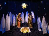 Nativity Scene at Metropolitan Cathedral in Buenos Aires (via WIkimedia Commons)